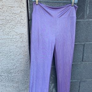 Sparkle holographic looking leggings
